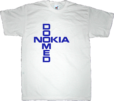 nokia apple iphone meego useless CEOs t-shirt ephemeral-t-shirts