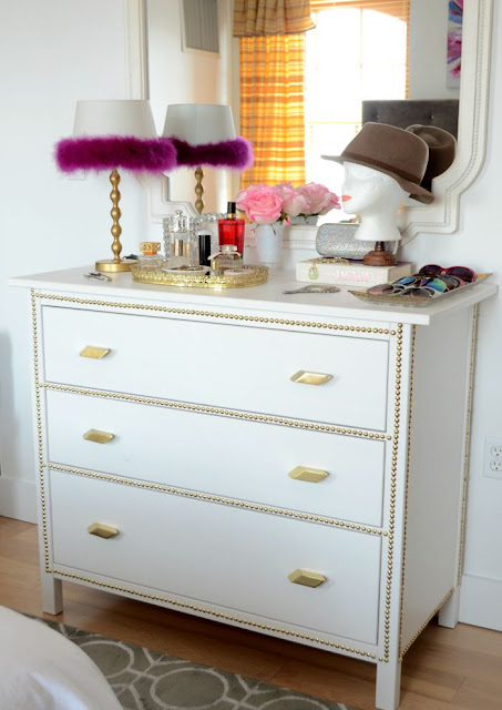IKEA.HEMNES.3 drawer chest.DIY.Before+After.Makeover