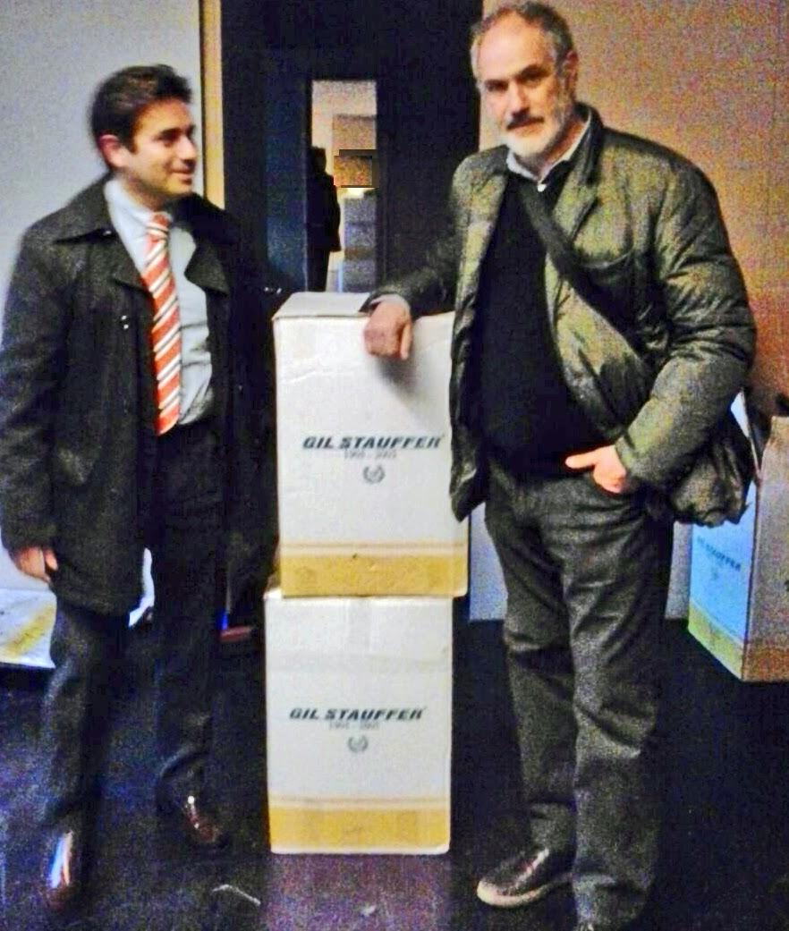 Gil Stauffer realiza la mudanza de Zubizarreta