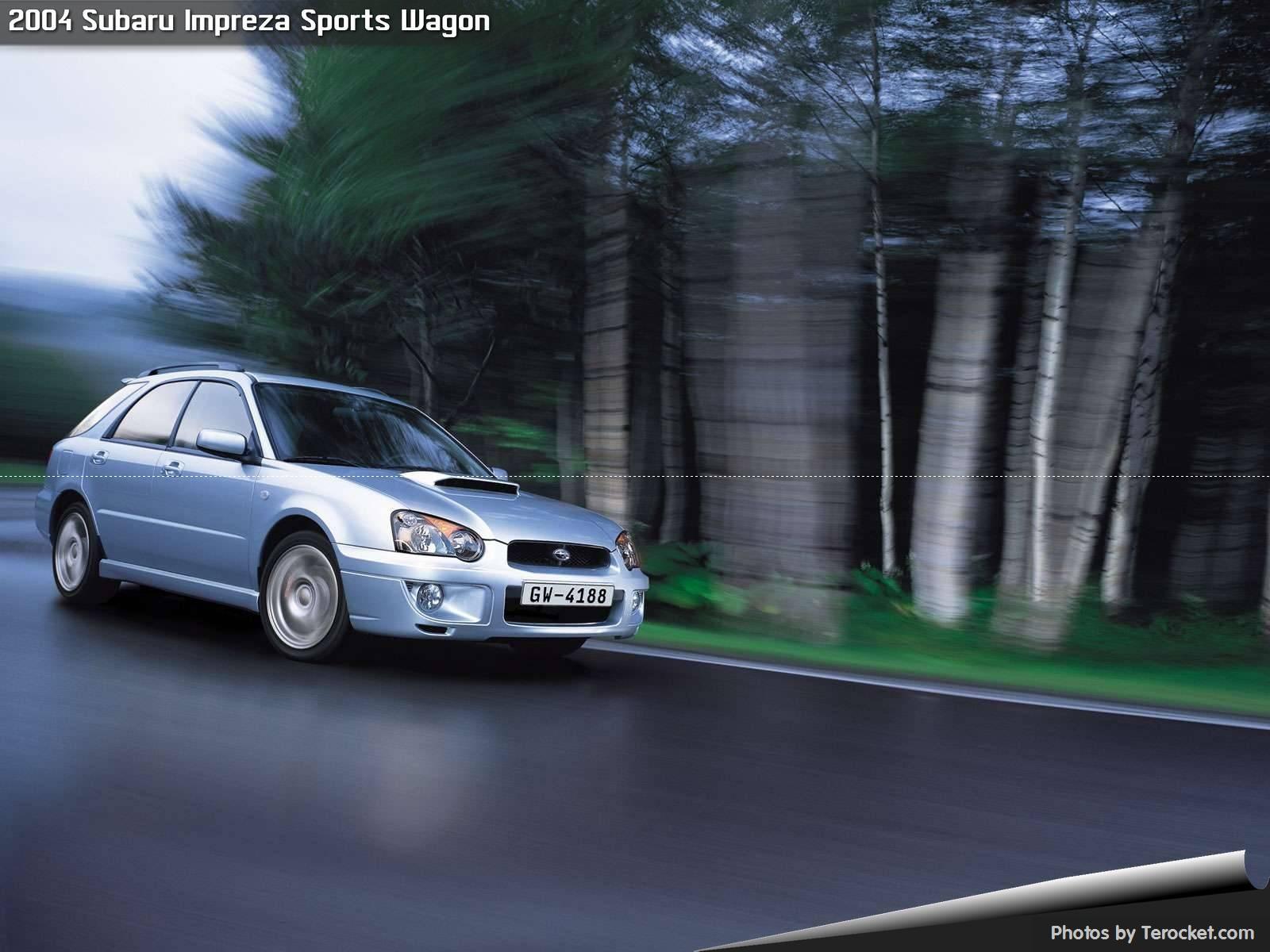 Hình ảnh xe ô tô Subaru Impreza Sports Wagon 2004 & nội ngoại thất