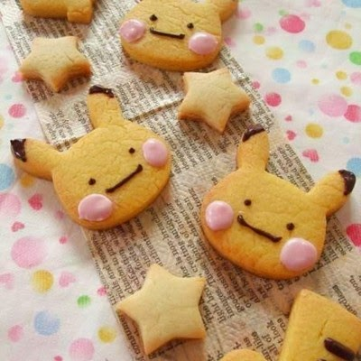 Japanese Food Pikachu Cookies