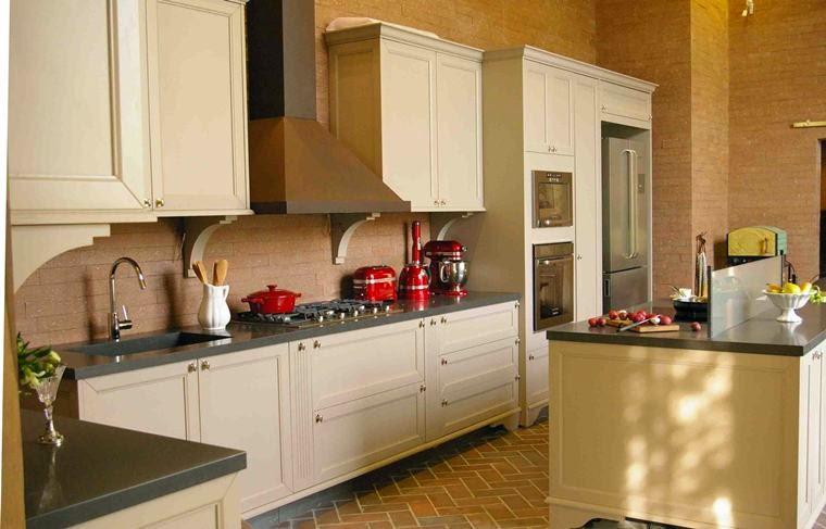 cozinha com inspiração na Itália