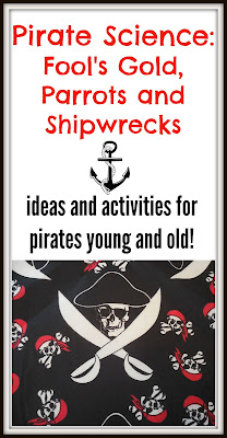 pirate science for kids fool's gold shipwrecks and parrots