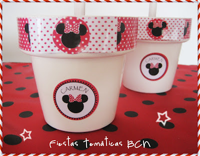 Arbolito de chuches minnie