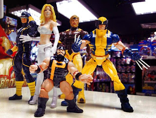 Marvel Legends BAF Puck Alpha Flight Wolverine Sabretooth Cyclops Emma Frost Rogue Astonishing X-men X-Force