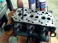 Κεφαλή κινητήρα τρακτέρ