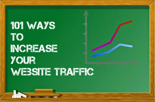 101 Ways to Increase Your Website Traffic