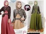 Busana Muslim Gamis Lavina HYD204 HABIS
