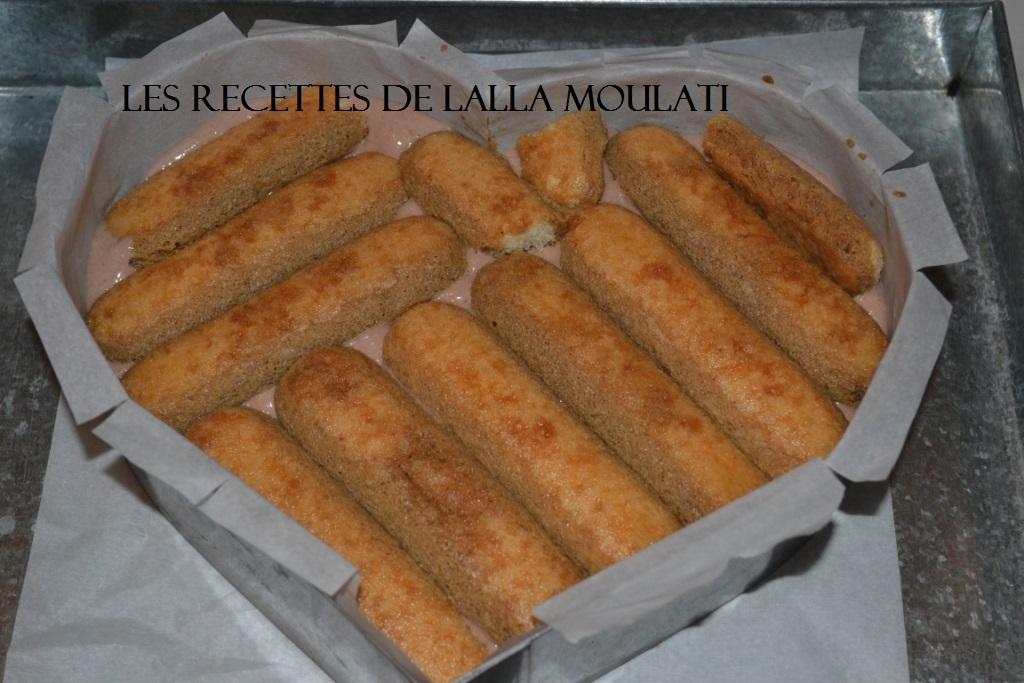 Tiramisu sans oeufs les recettes de lalla moulati - Recette tiramisu sans oeuf ...