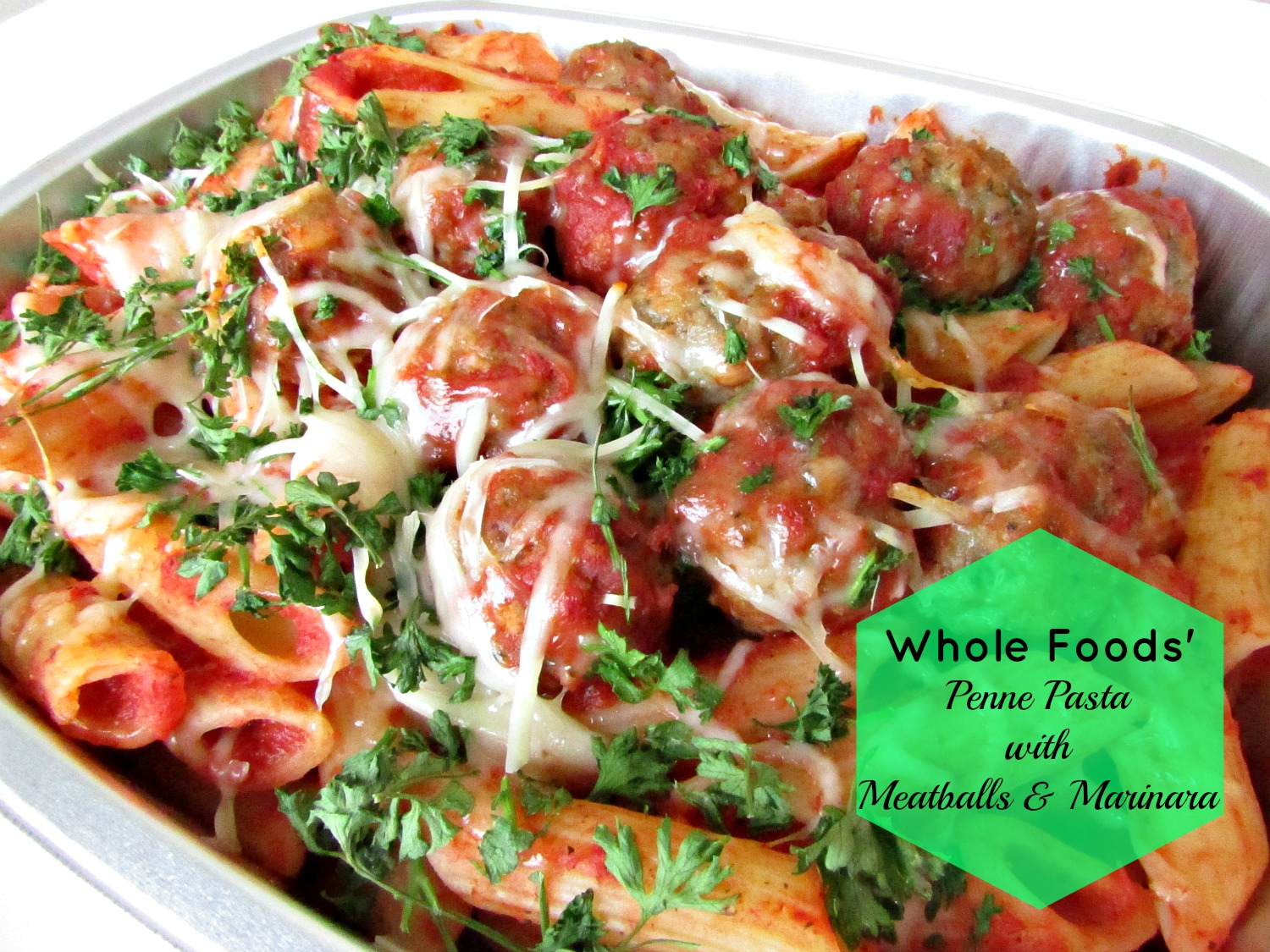 Limited Space Organizing Monday Meals Whole Foods Penne With intended for A Good Healthy Meal