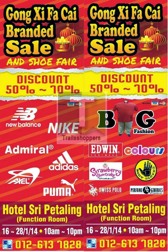 Gong Xi Fa Cai Apparels Branded Sale and Shoe Fair
