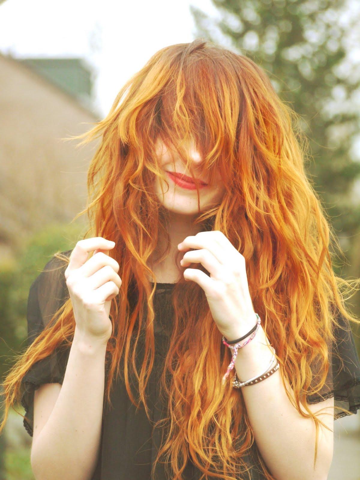 Фото девушек с рыжими волосами 18 фотография