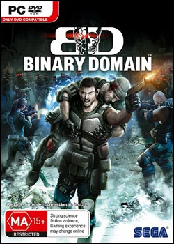 Modelo Capa Download   Binary Domain SKIROW   PC (2012)