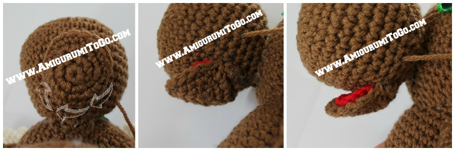 Amigurumi Open Mouth : Large Crochet Moose Free Pattern ~ Amigurumi To Go