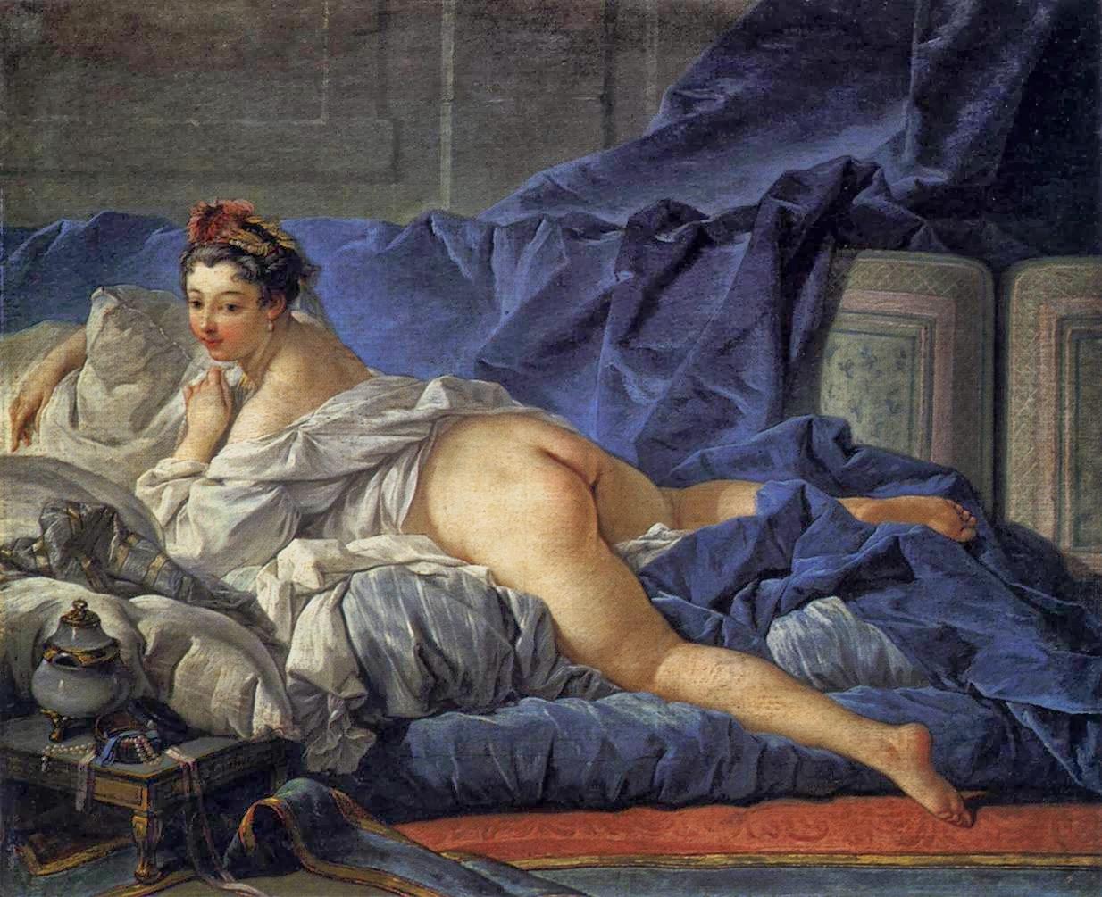 L'Odalisque Brune, 1745
