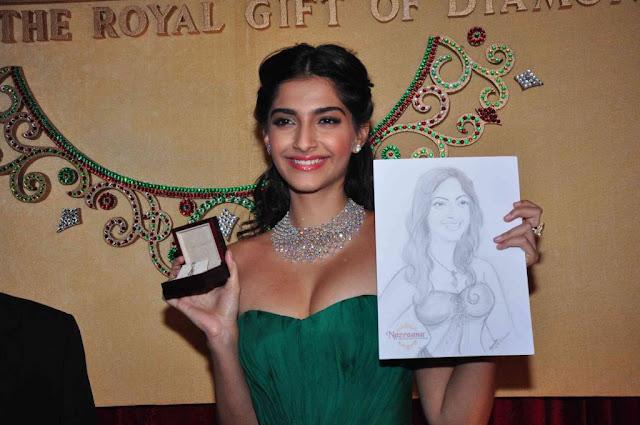 Sonam Kapoor cleavage