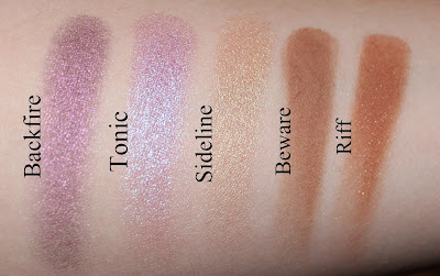 Urban Decay Eyeshadow Shades Summer 2015