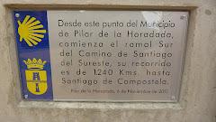 CAMINO DE SANTIAGO DEL SURESTE