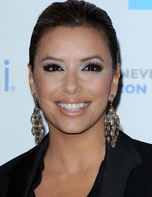 Eva Longoria Parker Gemstone Decorative Earrings