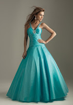 Long Ball Gown Prom Dress