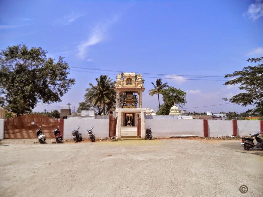 Theneeswarar Temple Entry, Vellalore, Coimbatore