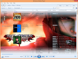 CARA MERUBAH BACKGROUND WINDOWS MEDIA PLAYER DI WIN 7