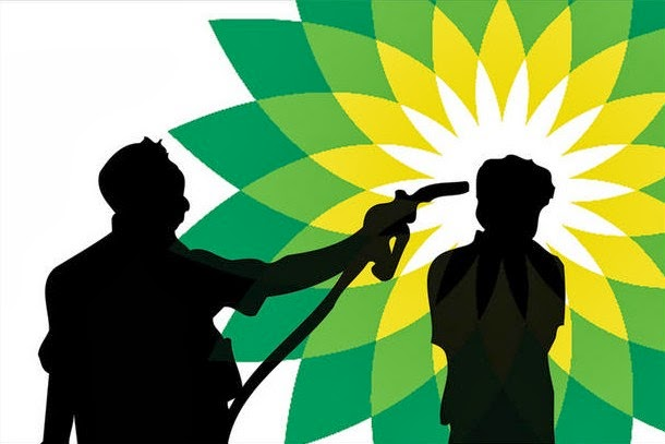 BP. British Petroleum. Beyond Petroleum.