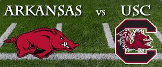 Photo of Arkansas vs USC Football