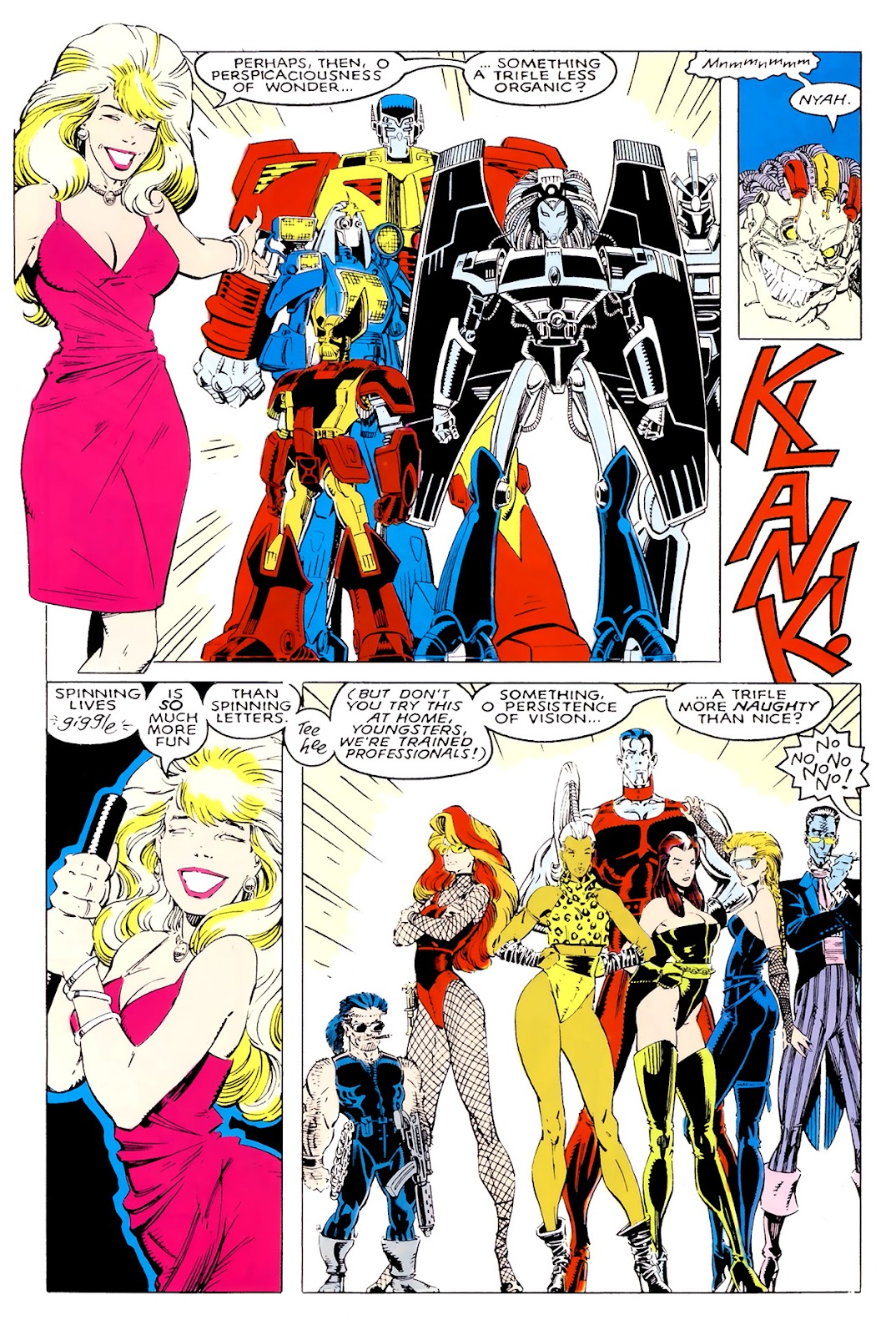 Read online X-Babies comic -  Issue #1 - 32