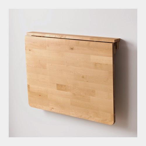 Ikea Norbo i nerfällt läge, Sticker då ut ca 8cm från väggen!