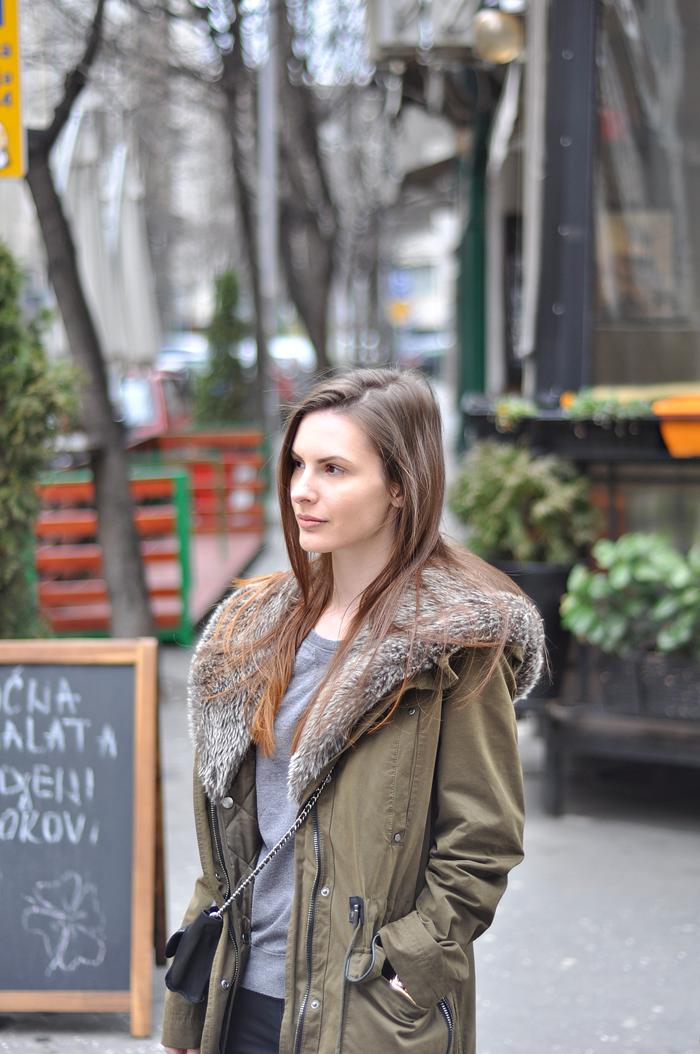 aleksandra skorupan, velvet and milk blog, mango parka