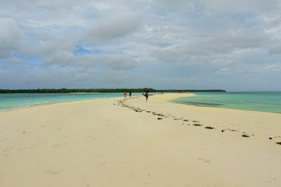 The beauty of Ngurtafur Beach in Maluku