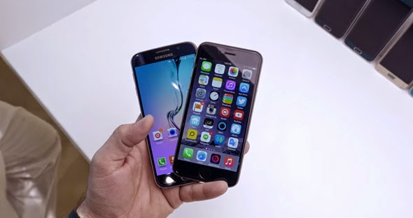 Apple iPhone 6 and Samsung Galaxy S6: Duel in Video ...