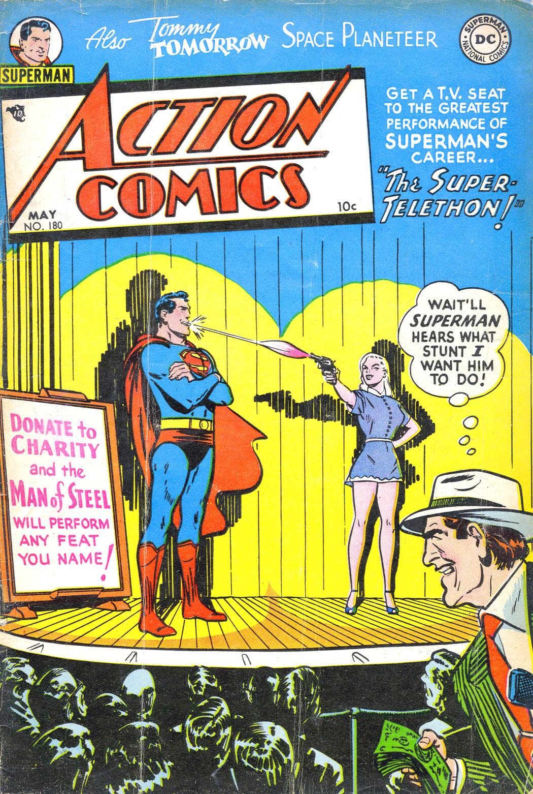 Action Comics (1938) 180 Page 1