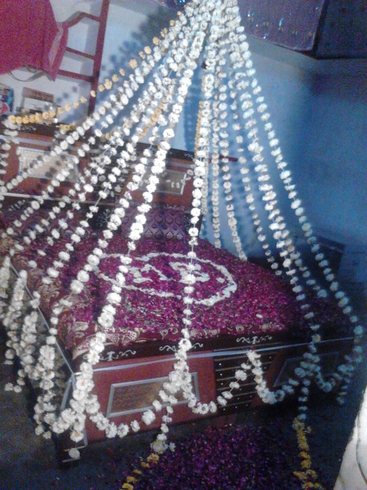 Marvelous Bridal Bed Room Decoration Gurgaon
