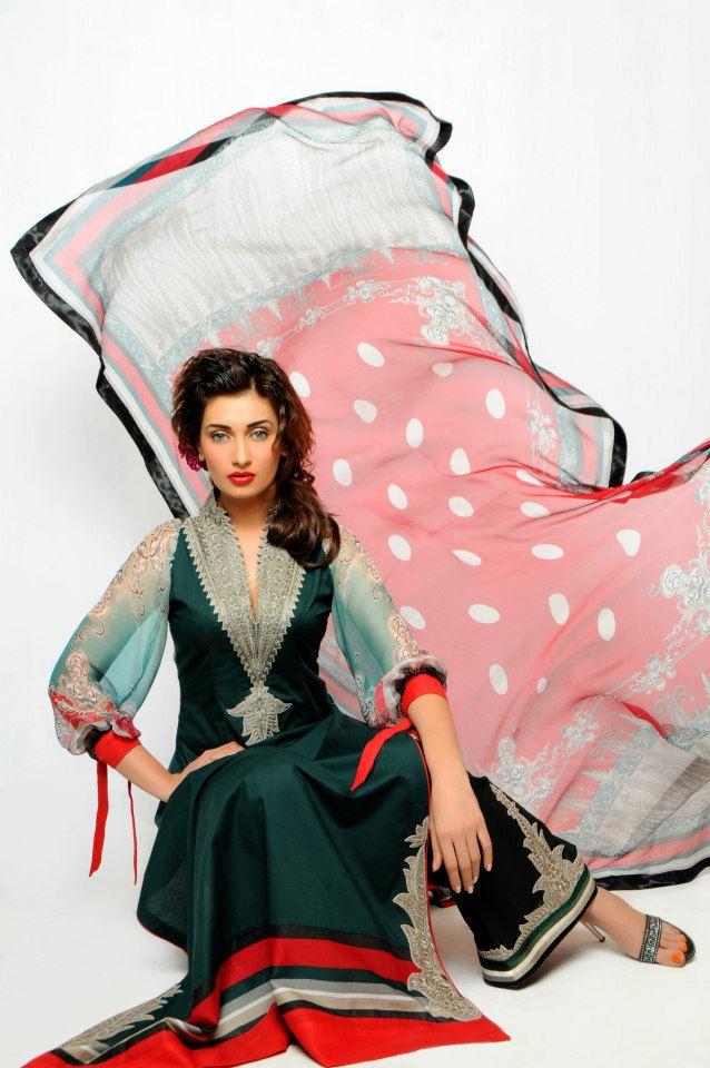AishaVarseyLawn - Dress Of the day 15th May 2013