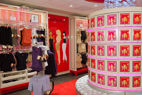 Spanx Shopfront Bloomingdale's 59th Street Interior