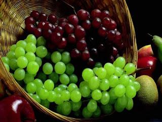 العنب طعم وفوائد