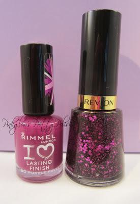 Rimmel-purple-pulse-and-Revlon-facets-of-fuchsia.jpg
