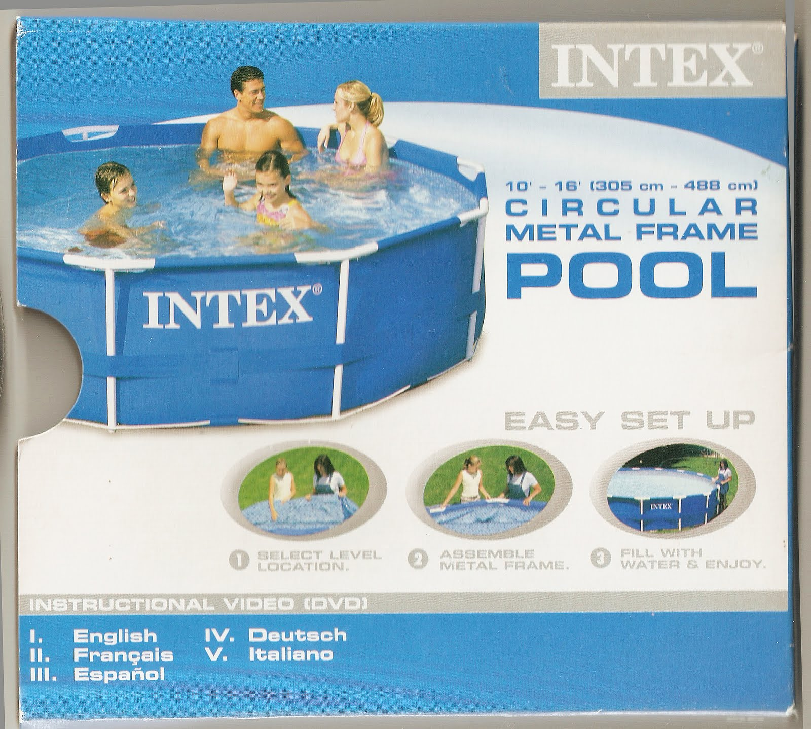 Vendocosasxviaje piscina desmontable intex con bomba for Piscina pequena desmontable con depuradora