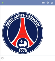 PSG Football Emoticon