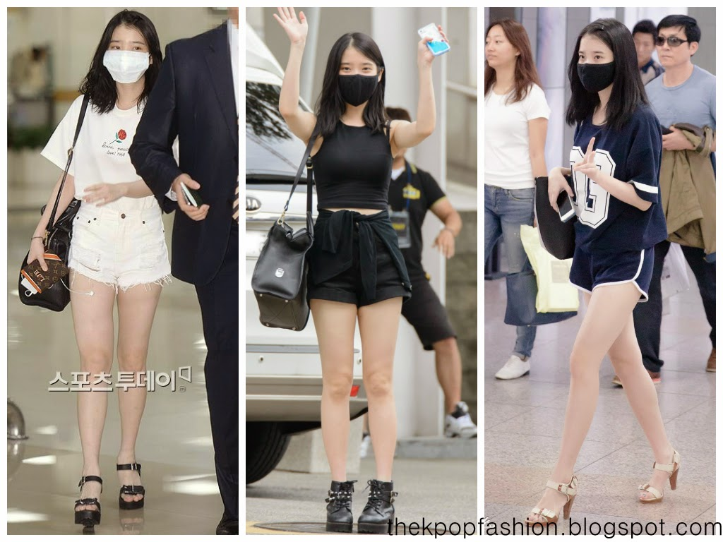 Off Stage Iu 39 S Airport Fashion In 2014 The Kpop Fashion