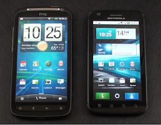 Motorola Atrix Vs HTC Sensation