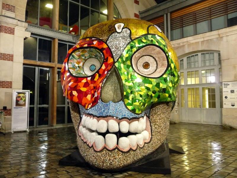 Le centquatre - La Cabeza - Niki de Saint Phalle