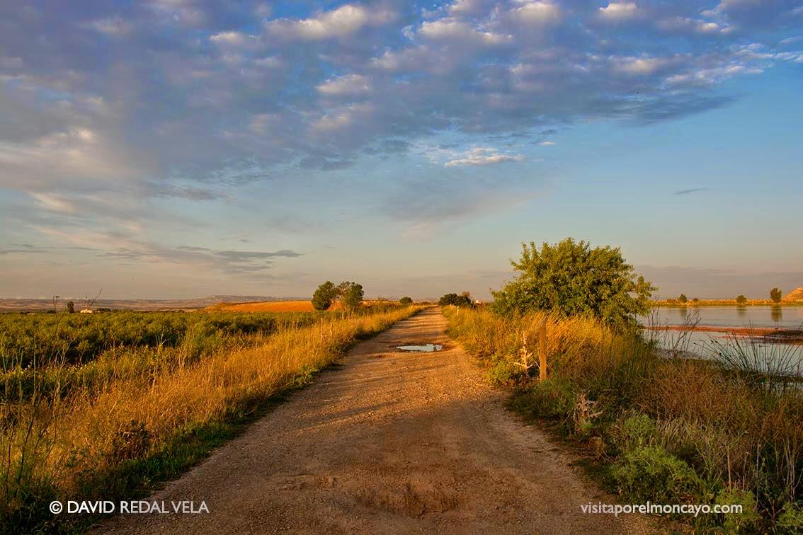 senderismo ruta cuenca del queiles embalse del lor laguna navarra