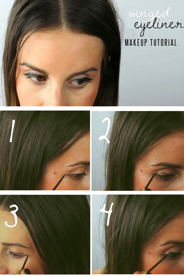 Winged Eyeliner - Makeup Tutorial