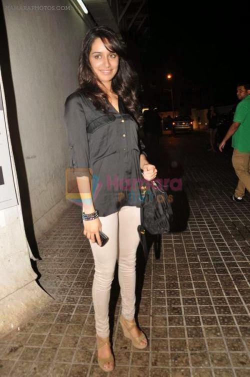 Shraddha Kapoor at the special screening for Shootout at Wadala hosted by John Abraham in PVR