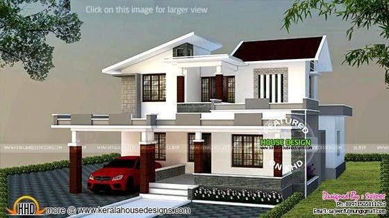 Side elevation home