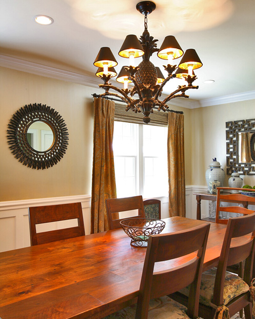 Interior home decoration for Western dining room ideas