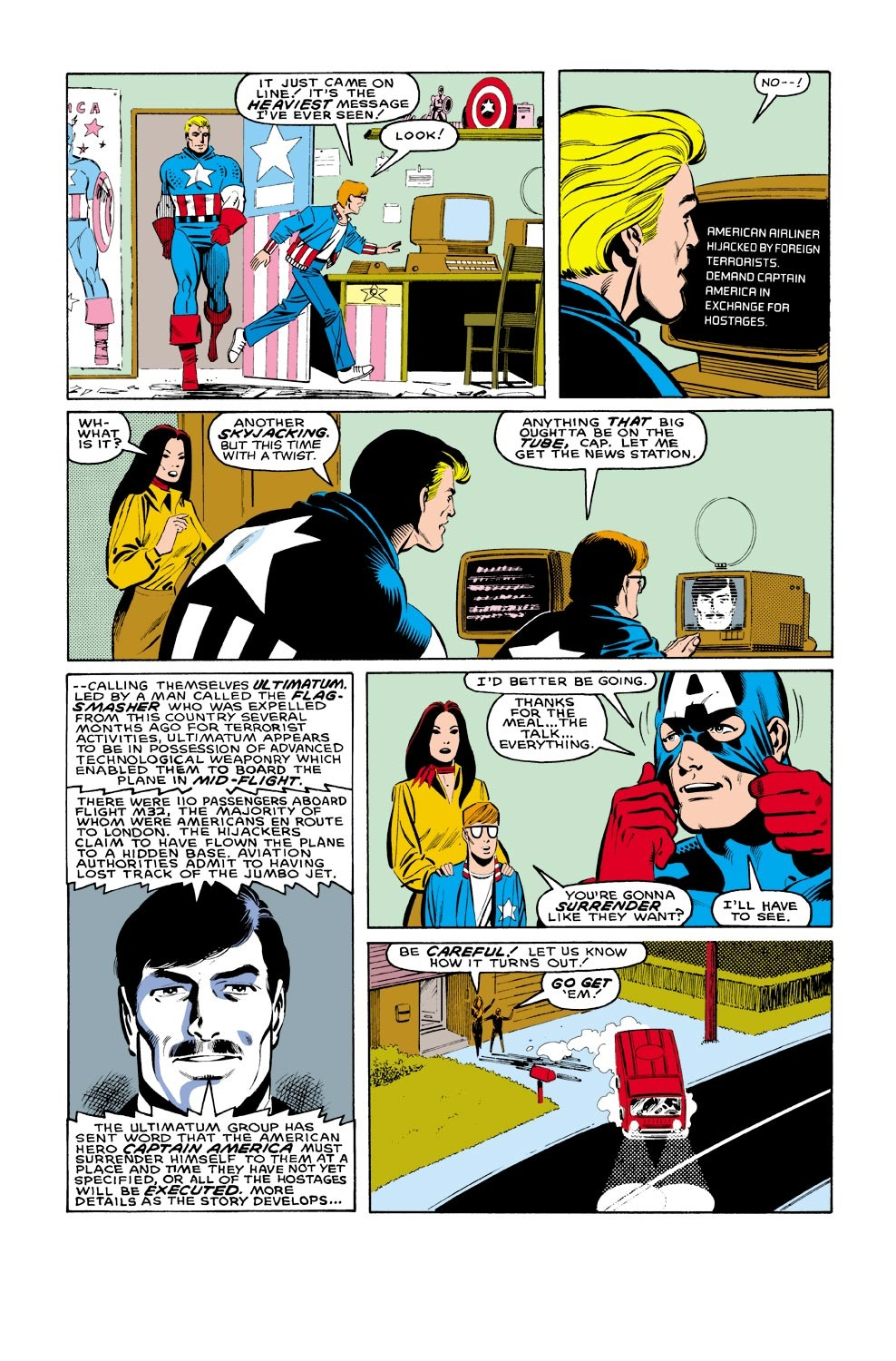 Captain America (1968) Issue #321 #249 - English 9